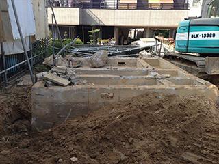 愛知県安城市 基礎の解体・盛土